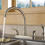 best kitchen faucet with separate sprayer