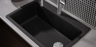 How to Clean a Black Blanco Sink